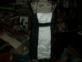 BCBG MAX AZRIA Adorable Black+White Cocktail Dress Size 0 - $15.84