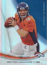 Peyton Manning 2013 Topps Platinum Card #69 - $0.99