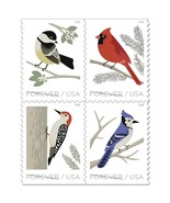 Birds in Winter 2018 Forever Stamps by USPS (3 Booklets of 20) - $68.99