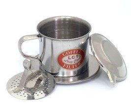 04 Sets x Size 09, Vietnam French Coffee Filter, Press Maker, Stainless ... - $19.78