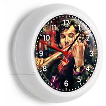 Sherlock Holmes Violin Benedict Cumberbatch Wall Clock Office Fan Room Art Decor - $21.05
