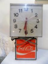 COCA-COLA Wall Clock INGRESS PLASTENE G-011 197... - $98.00