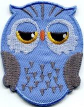 Owl bird of prey hoot animal wildlife applique iron-on patch new S-330 - £2.24 GBP