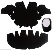 3Pk. BLACK-One Size Fits All Caps Insert & Panel Hat Shaper Combo| Fitte... - $18.66