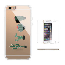 360° Protection Cactus Don't Be A Prick Clear iPhone Case Transparent Ph... - $17.99