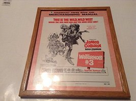 WATERHOLE #3 PRESS BOOK AND MERCHANDISING MANUAL FRAMED [Poster] [Jan 01... - $124.75