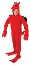 Erwachsene Rot Drachen Kostüm, Unisex Kostüm, Halloween - $56.01