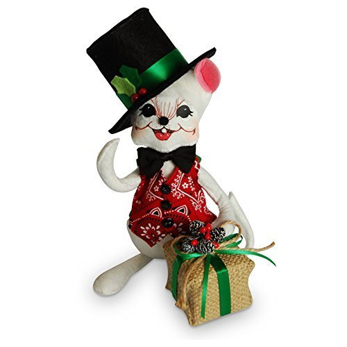 Annalee - 8in Rustic Yuletide Boy Mouse