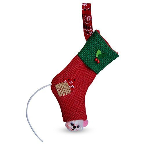 Annalee - 3in Rustic Yuletide Stocking