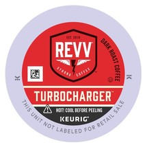 Revv Turbocharger Coffee, 48 count Keurig K cups, FREE SHIPPING  - $38.99