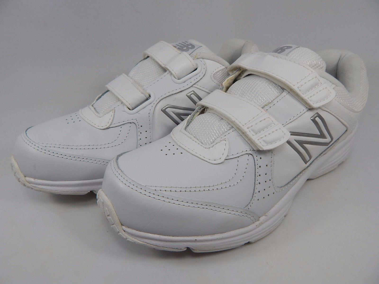 New Balance 411 Women's Walking Shoes Size US 8 D WIDE EU 39 White WW411HWT