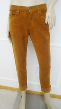Nwt James Jeans Neo Beau Slouchy Boyfriend Corduroy Jeans Sz 26 2 Cognac... - $79.15