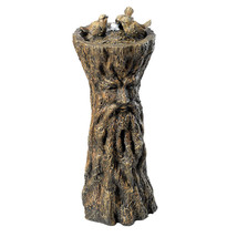 Magical Man of the Forest Tree People Giant Greenman Water Fountain Scul... - $395.95