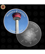 WR Wonders of Canada Calgary Tower Design Uncirculated Coins Mens Gift I... - $7.41