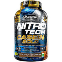 2 x  MuscleTech Nitrotech Casine Gold Chocolate Supreme (5lb) - $684.00