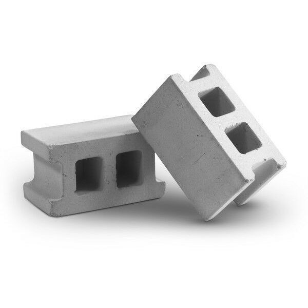 Primary image for NEW MollaSpace Concrete Magnets. 4 mini Cement Blocks. Modern office design.
