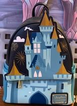 Disney Parks Cinderella Castle Fantasyland Mini Loungefly Backpack NWT - $1,584.00