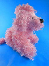 "Webkinz PINK POODLE PUPPY DOG plush  No Code  7 X 9"" Adorable - $3.46"