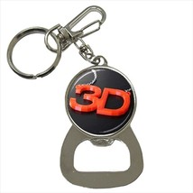 3 Dimensional 3D Printing Bottle Opener Keychain and Beer Drink Coaster Set - $7.71+