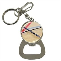 Baton Twirling Bottle Opener Keychain and Beer Drink Coaster Set - $7.71+