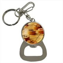 Chinese Chess Bottle Opener Keychain and Beer Drink Coaster Set - $7.71+