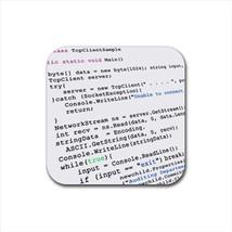 Computer Programming Code Bottle Opener Keychain and Beer Drink Coaster Set - $7.71+