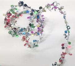 9 ft. Multi color Metallic #80 Birthday Anniversary Wire Garland - $1.97+