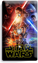 STAR WARS FORCE AWAKENS JEDI REBELS PHONE TELEPHONE WALL PLATE COVER ROO... - $8.90