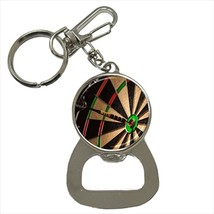 Darts Bottle Opener Keychain and Beer Drink Coaster Set - $7.71+