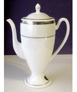 Waterford Lis. Essence Platinum Coffee Pot 36 oz. Unmarked Base New - $68.90