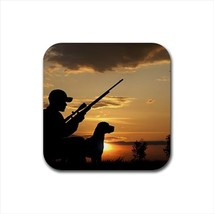 Duck Hunting Bird Hunting Bottle Opener Keychain and Beer Drink Coaster Set - $7.71+