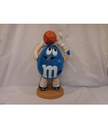 """Collectible M&M's Candy Dispenser """"Sport"""" Basketball Limited Edition Blue - $14.42"""