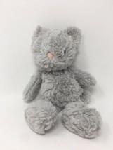 "Jellycat Kitten Cat Plush 8"" Gray Small Stuffed Animal Toy - $18.54"