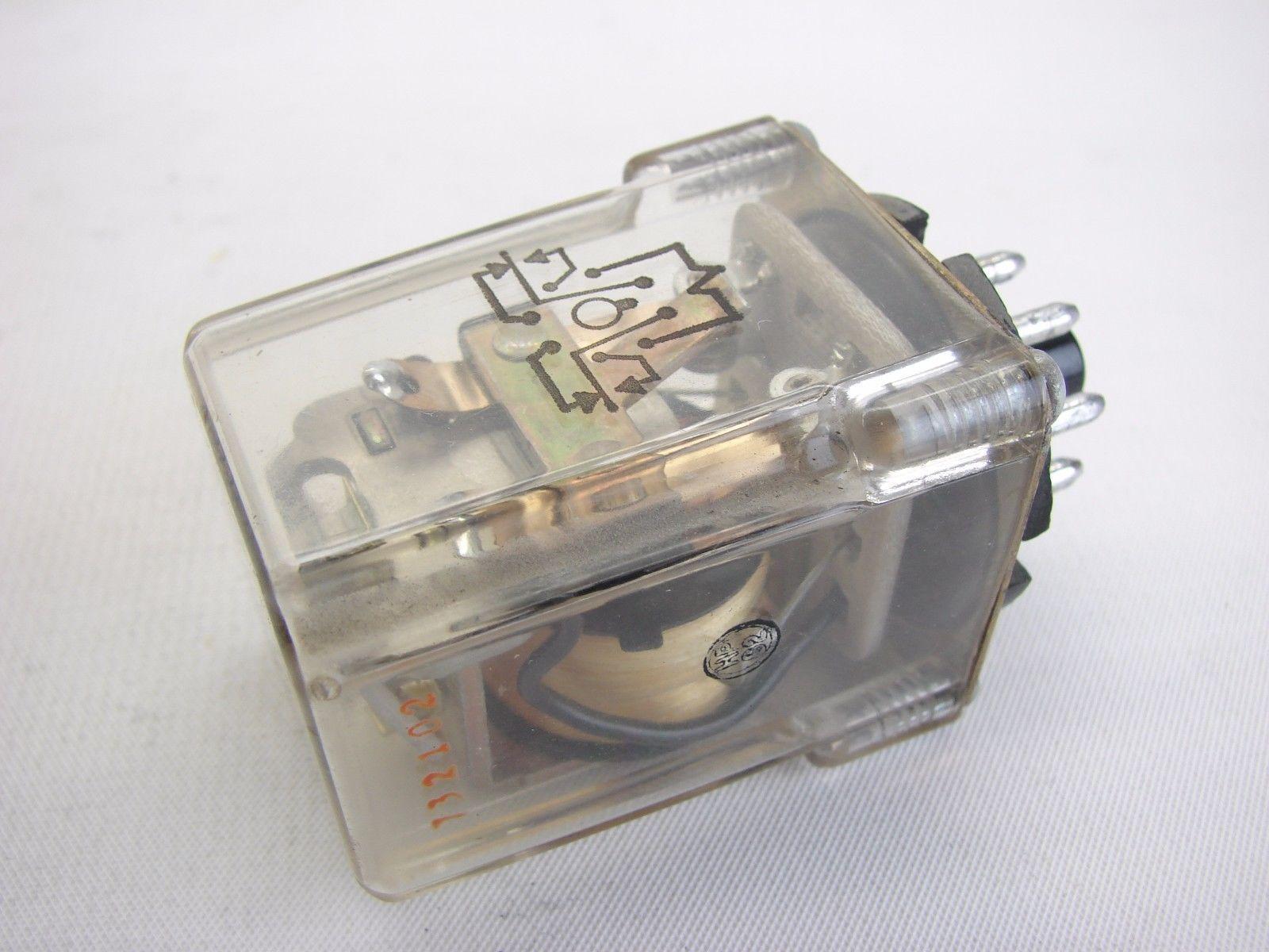 10A Socket Potter Brumfield KRP-11AG-120 7-1393101-7 Power Relay 120VAC DPDT