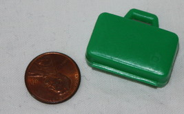 Playmobil Green Suitcase Luggage Replacement Part Diorama Miniature - $1.24