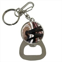Knife Throwing Bottle Opener Keychain and Beer Drink Coaster Set - $7.71+