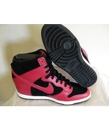Women's nike dunk sky hi red size 8.5 new without a box - $98.95
