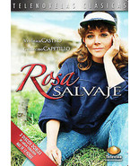 Rosa Salvaje Telenovela Castro, Capetillo 3 Disc Set (Edited Version) New - $18.79