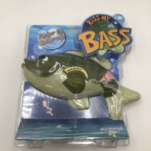 KISS MY BASS Talking Fish Electronic Interactive Game - $9.89