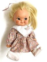 Vtg Baby Doll Charlot Byj W Goebel 1966 Blonde Rubber - $59.35