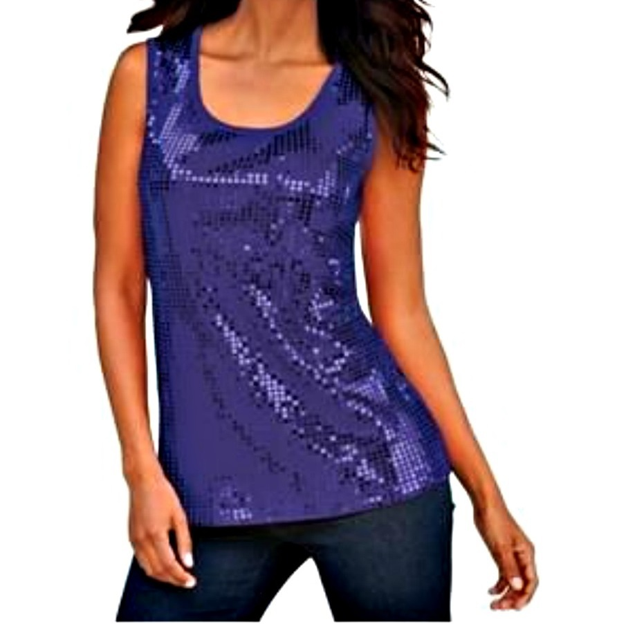 Sequin Tops. Showing 40 of results that match your query. Search Product Result. DYMADE Women's Sexy Off Shoulder Bandage Lace Long Sleeve Shirt Blouse Top Blue. Product Image. Price $ 9. Thread Tank Aztec Tribal Elephant Women's Sleeveless Muscle Tank Top Charcoal Small. Product Image. Price $