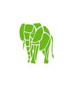 Tribal elephant vinyl decal,outdoor UV resistant window sticker ready to... - £4.45 GBP
