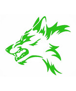 Mad wolf outdoor vinyl decal 8 inch window decal UV resistant permanent  - £6.14 GBP+