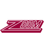 Zoom vinyl lettering decal 8 inch decal sticker kayak decal - £4.91 GBP