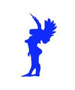 Imaginary force lady angel decal custom 6 inch window decal kayak laptop - £3.07 GBP