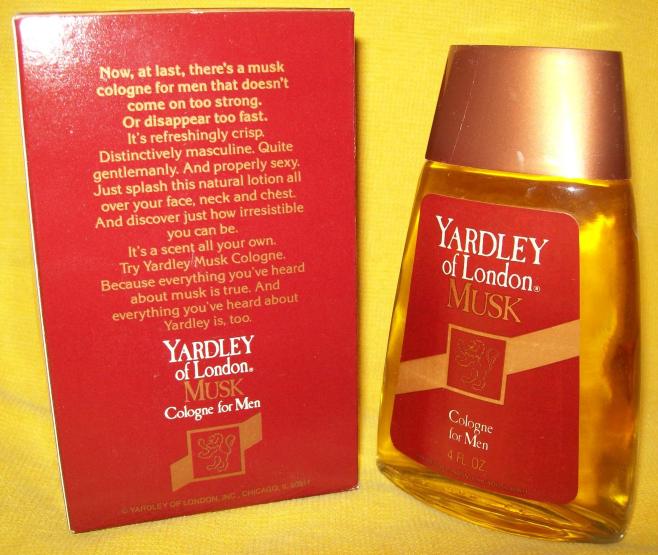 Vintage YARDLEY OF LONDON MUSK COLOGNE Perfume 4 oz. Bottle Fragrance MEN NEW