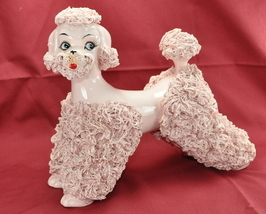 Vintage Pink Spaghetti Poodle Large 8 Inch Town and Country Clip - $229.00