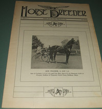 A Vintage Issue of the American Horse Breeder Magazine for February 18th... - $15.83