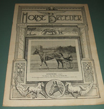 A Vintage Issue of the American Horse Breeder Magazine for August 13th ,... - $15.83