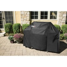 "Weber 7107 Grill Cover 44""X60"" w/Storage Bag for Genesis Gas Grills BBQ ... - £70.61 GBP"